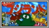 Godzilland Stamp by ABoringGuy64