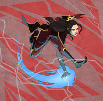 Azula in Action by TheAmoebic