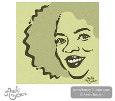 Portrait: Oprah Winfry by Art-by-Andy