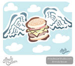 Burger Angel by Art-by-Andy