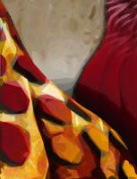 Giraffe Back by Art-by-Andy