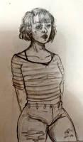Girl (SKETCHBOOK) (04.01.2017) by indexjoker