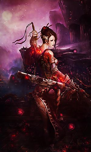 Samurai-girl by BriGht-liGht-NSH