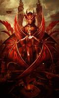 Lady Dragon by BriGht-liGht-NSH