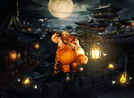 Monk Fun by BriGht-liGht-NSH