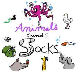 Animals and Socks by Bobalooshrimp