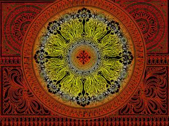 fractal doodle _ Sya Ornamental Brush Set by definitelynotdull