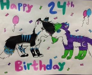 Happy Birthday Alari! by Lunathehusky