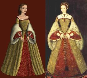 Tudors In Progress by dolldivine