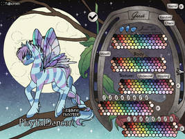 Flutter Bug Pony Maker by dolldivine