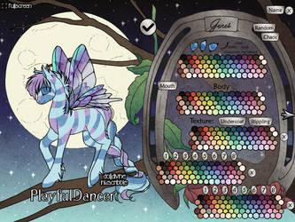 Flutter Bug Pony Maker by dolldivine