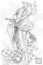 Deity Coloring Book by dolldivine
