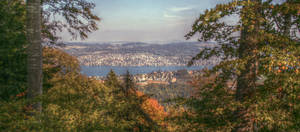 Lake of Zurich by Antryg-a-Silicon-Sky