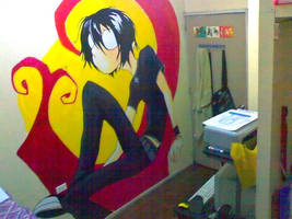 alone. and still alone :mural by chOsenjuan