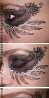 Native Feather Eyes by Bella-Eugenia
