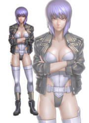 GHOST IN THE SHELL04 by N-ikegami