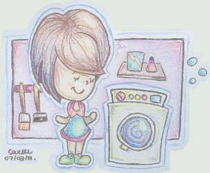 Laundry by Carolinds