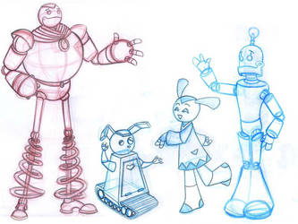 robots by harusame