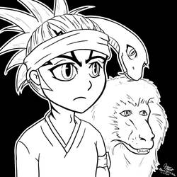 Renji, Snakey, and The Monkey by GoaliGrlTilDeath