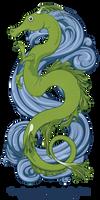 Seadragon (vector) by GoaliGrlTilDeath