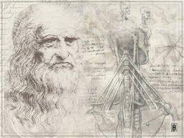 Leonardo Da Vinci by GoaliGrlTilDeath