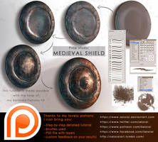 Tutorial: prop study - shield by Seiorai