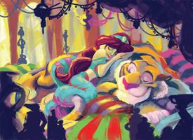 Coloring Book: Jasmine by CrackedClockwork