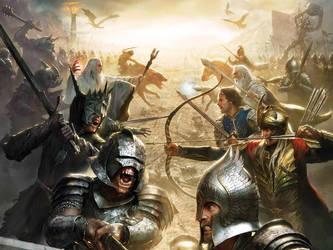 The Final battle by JCTMerge