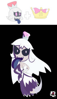 Booette / Queen boo (My enterpritaion) by MrBenDoodle