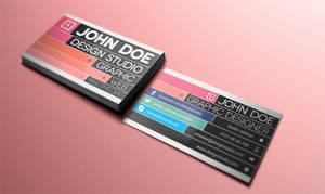 Free Creative Business Card v3 by Pixeden