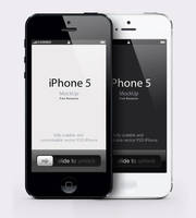 Free iPhone 5 Psd Vector Mockup by Pixeden
