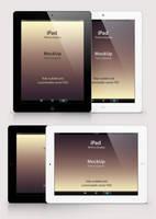Free Psd iPad Retina Mockup Template by Pixeden