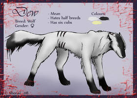 Dew ref. sheet by Scheq