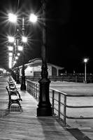 Benches Along The Beach by sullivan1985