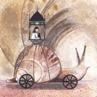 A Snail Ride Away by JadeMoonRabbit
