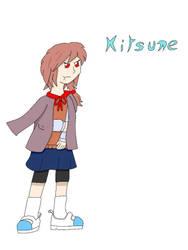 Kitsune [OC: Changernightstudio | Color: Spesy] by BETAUnknow