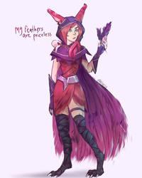 Feathers by Aleriy