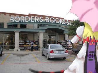 Yukari goes to the bookstore by furiousrockets