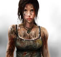 Lara Croft Reborn by Reiup
