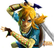Zelda: Breath of the Wild (no bg) by Reiup