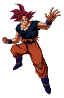 Goku Super Saiyajin Dios by arbiter720