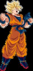 Goku Super Saiyajin by arbiter720