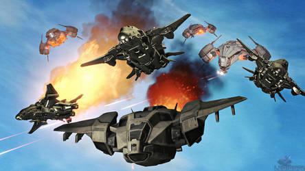 Phaeton Ambush by XLegion-716X