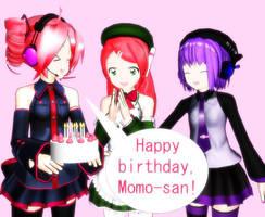 Happy Birthday, Momo-san by Twistermon