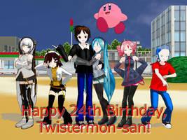 Happy Birthday, Twistermon! by Twistermon