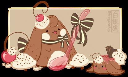 [Cakie!] Homemade Chocolate Pudding by shiroganeRyo
