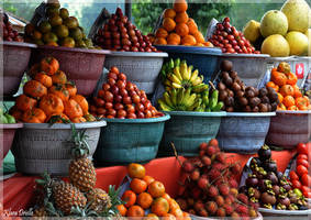 Fresh fruit as desired by KlaraDrielle