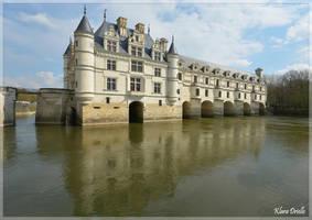 Chateau de Chenonceau by KlaraDrielle