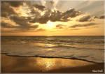 Golden sunset by KlaraDrielle