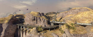 Tsavo Highway - Widescreen by Lucifer4671